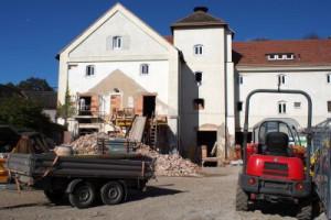 Baustelle Spätherbst 2014